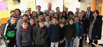 La Junta entrega a 16 centros docentes de la provincia de Córdoba kits de energías limpias y ahorro energético para hacer frente al cambio climático