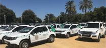 Medio Ambiente incorpora 141 vehículos y realizará un 'renting' para renovar toda la flota de los Agentes de Medio Ambiente