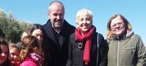 La Junta reforesta la Vía Verde del Aceite en Doña Mencía para celebrar el Día Forestal Mundial