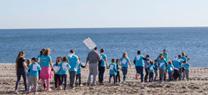 Más de 300 escolares del Levante participan en actividades de sensibilización sobre la conservación del litoral