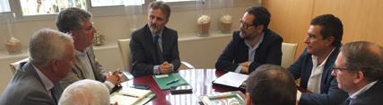 Encuentro con los máximos responsables del Círculo Empresarial del Turismo de Huelva