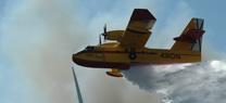 El ahorro acumulado en la contratación de los medios aéreos del Infoca alcanza los 16 millones de euros con respecto a 2012