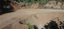 Zonas afectadas por el temporal de lluvias