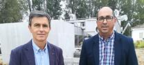 Las obras para la mejora y ampliación de la depuradora de Villamartín estarán culminadas este verano