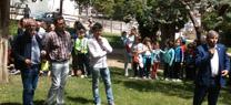Unos 900 escolares participan en Villanueva del Arzobispo en las actividades organizadas por la Junta por el Día del Medio Ambiente