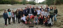 La Junta planta 14.150 pies de árboles y arbustos para recuperar y adaptar al cambio climático los sotos del río Andarax