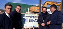 La Junta inicia las obras para la construcción del punto limpio de recogida de residuos de La Línea