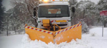 Trabajos de vialidad invernal