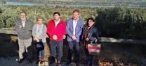 El delegado de Medio Ambiente participa en una jornada de convivencia en la Reserva Natural Laguna de Zóñar