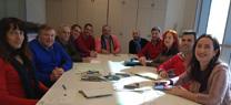 Reunión con la Diputación Provincial de Málaga