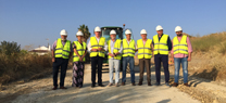 La Junta inicia el acondicionamiento de 25,3 kilómetros de vías pecuarias entre Paterna del Campo y Villarrasa