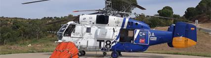 La campaña 2019 del Plan Infoca incrementa a 42 el número de medios aéreos