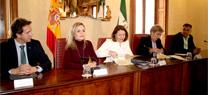 La Consejería y el Ayuntamiento de Antas firman un convenio para la ejecución de la nueva depuradora