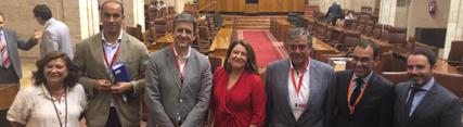 Carmen Crespo en el Parlamento