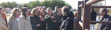 Medio Ambiente invierte 831.000 euros en un recinto de bueyes ubicado en la aldea de El Rocío