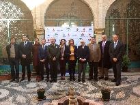 Rueda de prensa de María Jesús Serrano en la Delegación del Gobierno de Córdoba