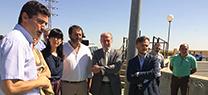 Medio Ambiente finaliza las obras de la Estación de Depuración de Aguas Residuales de Carmona