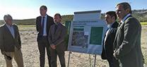 Medio Ambiente invertirá 9,6 millones de euros  en la depuradora de Arjona