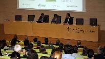 Fernando Martínez en una jornada sobre Técnicas para una Producción Hortofrutícula Eficiente y Sostenible