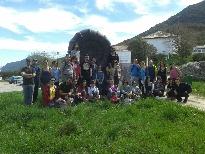 Actividad de voluntariado ambiental del programa Ecocampus