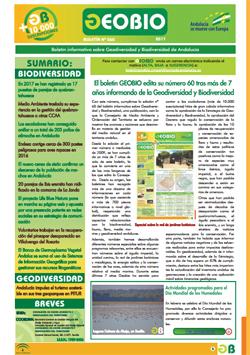 Portada Boletín Electrónico GEOBIO. Nº 60