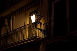 Intrusión lumínica en vivienda