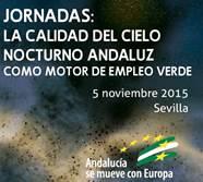 Jornadas: La calidad del cielo nocturno Andaluz