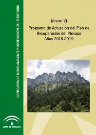 Portada del programa de actuación del Plan de Recuperación del Pinsapo. Años 2015-2019