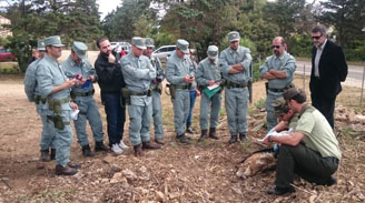 Curso Investigación y lucha contra el veneno en el Parco Regionale di Porto Conte, (Cerdeña)
