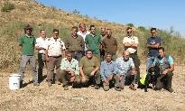 Jornadas con cazadores y ganaderos, celebradas en 2015 en Grazalema y Tebas, zonas de nidificación de alimoche