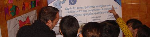 Niños en el Programa de Educación Ambiental