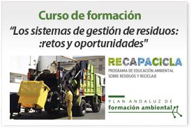 """Banner curso """"Los sistemas de gestión de residuos: retos y oportunidades"""""""