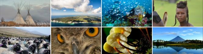 Imágenes de la Red Mundial de Reservas de la Biosfera de la UNESCO. Copyright UNESCO