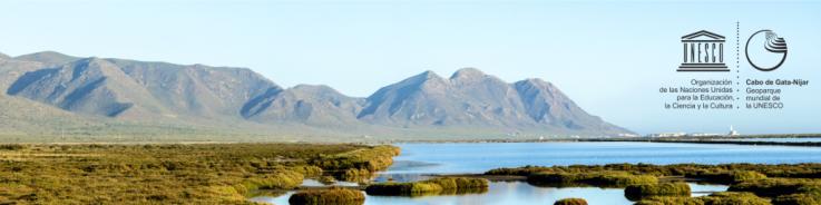 Paisaje de las salinas de Cabo de Gata-Níjar