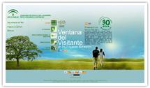 Portada del sitio web de la Ventana del Visitante