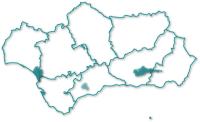 Mapa de localización Parques Nacionales andaluces