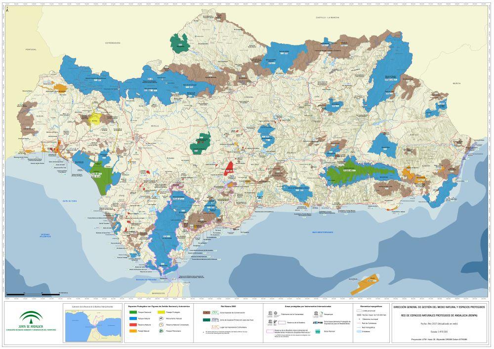 Red de Espacios Naturales Protegidos de Andaluca RENPA