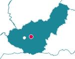 Mapa de localización del Parque Periurbano Dehesa del Generalife (Granada)