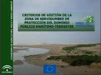 Criterios de gestión de la zona de servidumbre de protección del Dominio Público Marítimo-Terrestre