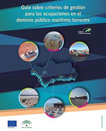 Portada de la guía sobre criterios de gestión para las ocupaciones en el dominio público marítimo terrestre