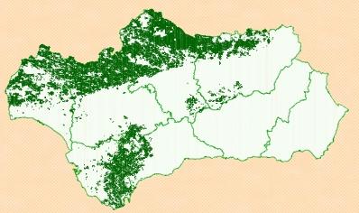 Mapa dehesa