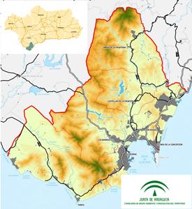 Campo De Gibraltar Mapa.Plan De Ordenacion Del Territorio Del Campo De Gibraltar