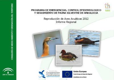 "Portada de ""Programa de emergencias, control epidemiológico y seguimiento de fauna silvestre de Andalucía"""