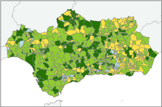 Mapa planeamiento urbanístico