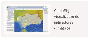 Climasig. Visualizador de indicadores climáticos