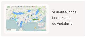 Visualizador de humedales de Andalucía