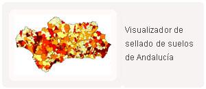 Visualizador de sellado de suelos de Andalucía