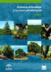 Portada de la publicación: Árboles y arboledas singulares de Andalucía. Cádiz