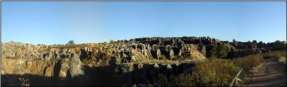 Panoramic View. Geopark Sierra Norte de Sevilla