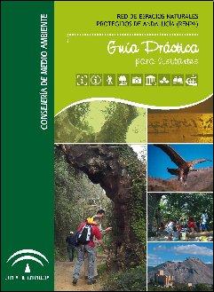 Portada de la Guía para visitantes de los Espacios Naturales Protegidos de Andalucía